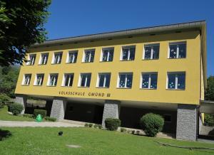 Thermische Sanierung, Volksschule Gmünd